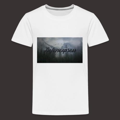 Tiefenexpress Logo 2016 - Teenager Premium T-Shirt