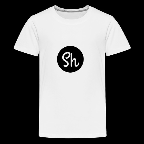LOGO 2 - Teenage Premium T-Shirt