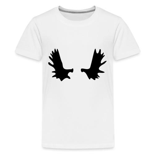 Elchgeweih - Teenager Premium T-Shirt