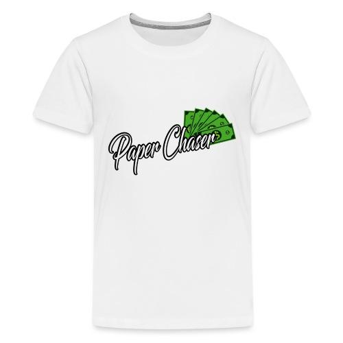 PAPER CHASER TSHIRT - Teenager Premium T-shirt