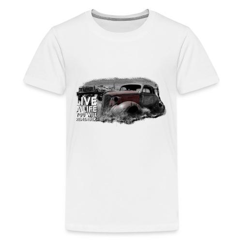 Live a life Oldtimer - Teenager Premium T-Shirt