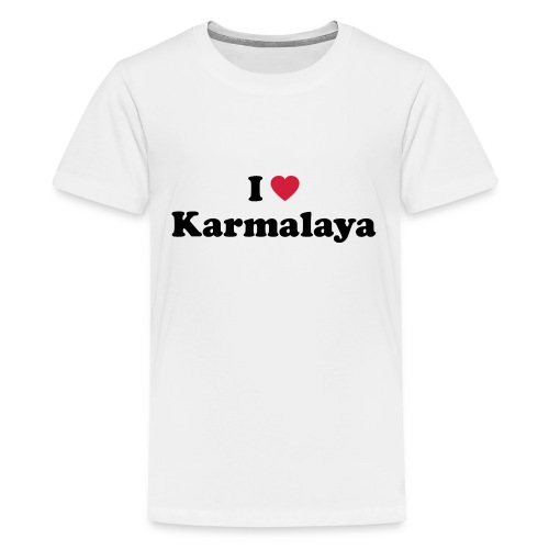 ilovekarmalaya a - Teenager Premium T-Shirt