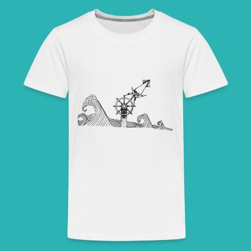 Carta_timone-png - Maglietta Premium per ragazzi