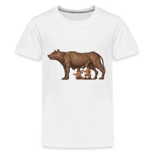 Wilczyca kapitolińska | Capitoline Wol - Koszulka młodzieżowa Premium