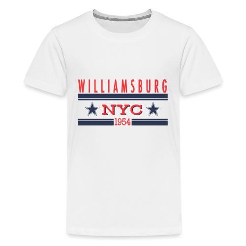 Williamsburg Hipster - Teenager Premium T-Shirt