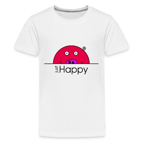 Happy Rosanna - « just Happy » - c - T-shirt Premium Ado