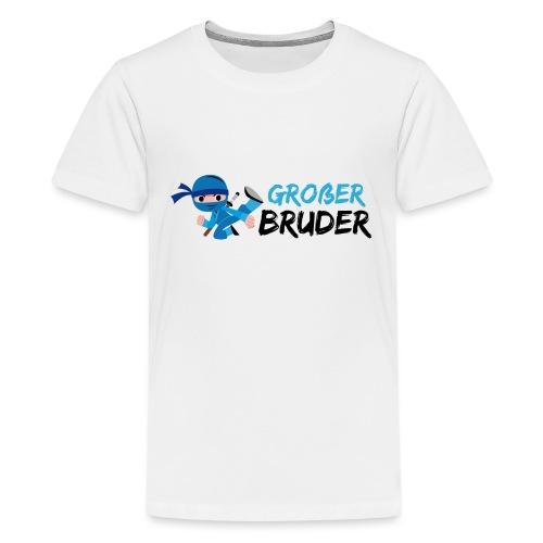 Ninja - Großer Bruder - Teenager Premium T-Shirt