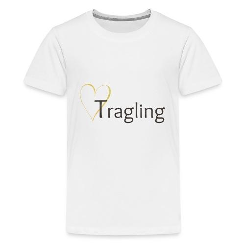 My Maisie Design Tragling Baby Dunkel - Teenager Premium T-Shirt
