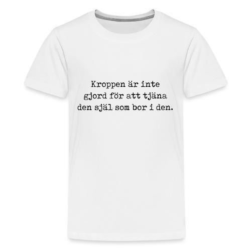 Citat - Premium-T-shirt tonåring