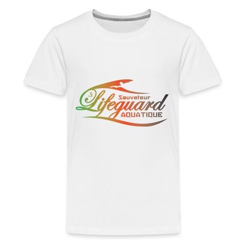 lifeguard multicolor - T-shirt Premium Ado