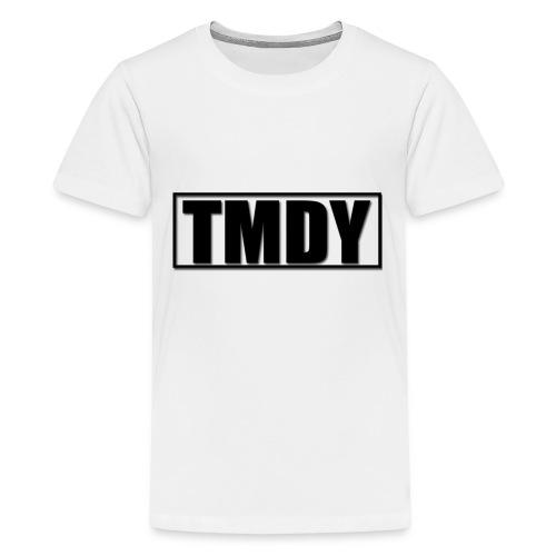 TMDY Snapback (Black logo) - Teenage Premium T-Shirt