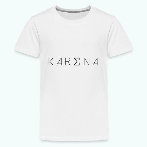 karena logo - Teenage Premium T-Shirt
