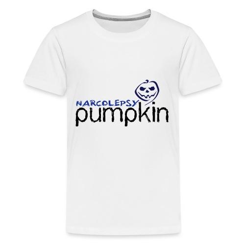 small Logo vector plain - Teenage Premium T-Shirt