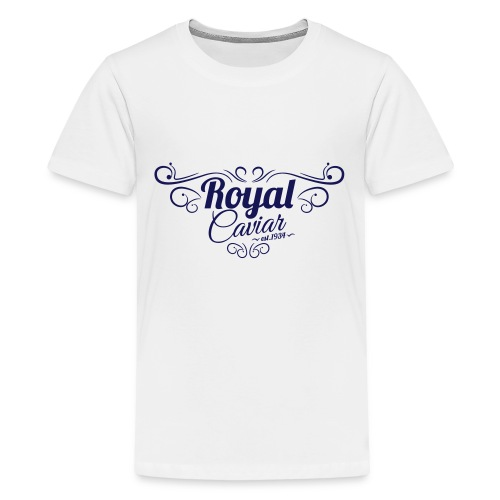 Royal Caviar Logo - Teenager Premium T-Shirt