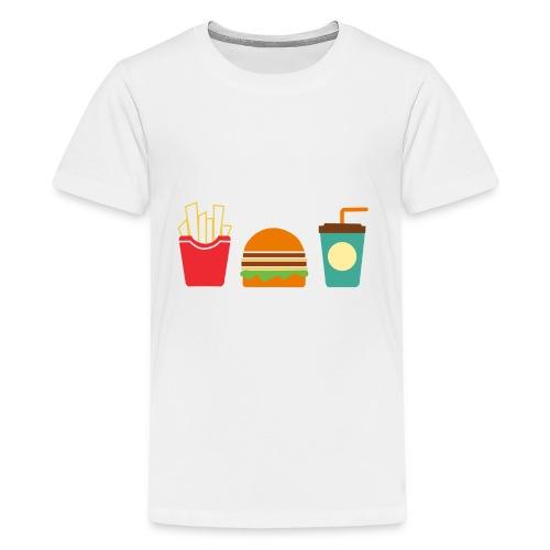 Fast Food - Maglietta Premium per ragazzi