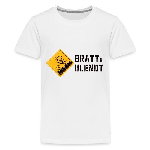 Untitled 3 gif - Premium T-skjorte for tenåringer