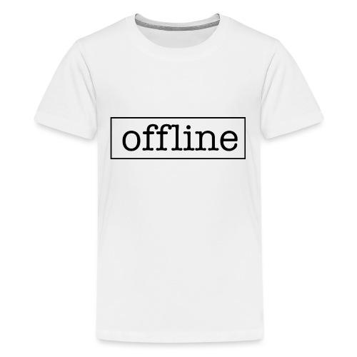 Officially offline - Teenager Premium T-shirt