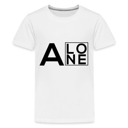 Alone Box Logo - Teenage Premium T-Shirt