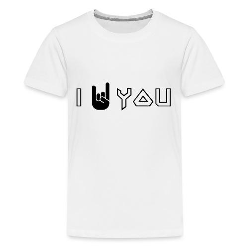 i rock vous - T-shirt Premium Ado