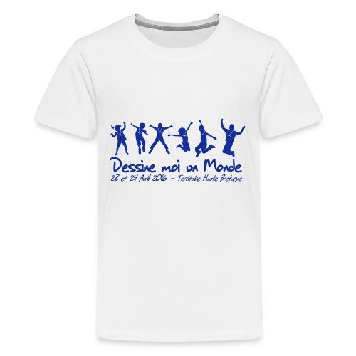 logo wet 2016 sp - T-shirt Premium Ado