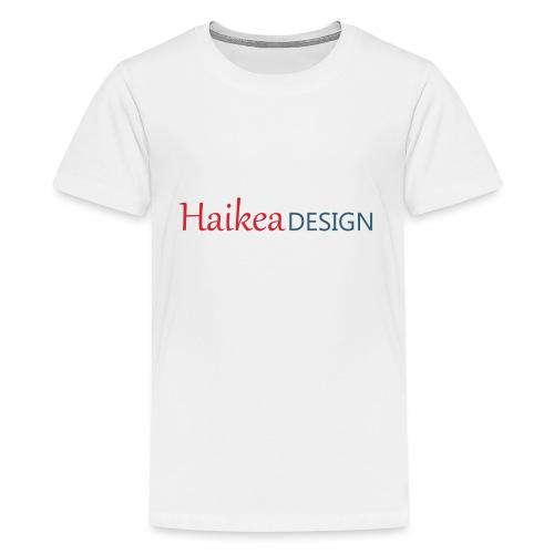 haikea logo - Teinien premium t-paita