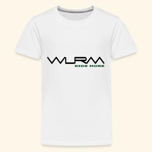 WLRM Schriftzug black png - Teenager Premium T-Shirt