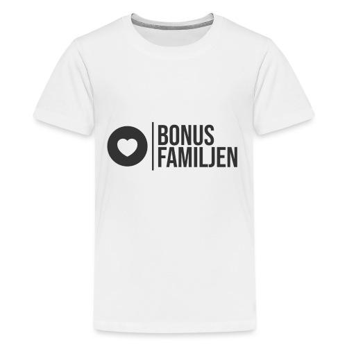 Kläder för Bonusfamiljen - Premium-T-shirt tonåring