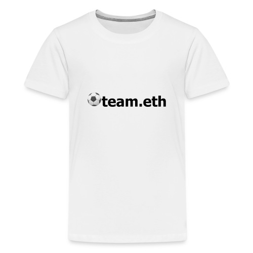 ⚽team.eth - Teenager Premium T-Shirt