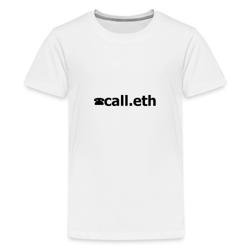 ☎call.eth - Teenager Premium T-Shirt