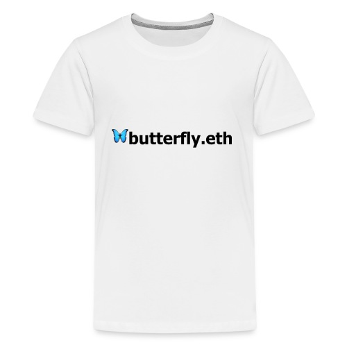 🦋butterfly.eth - Teenager Premium T-Shirt
