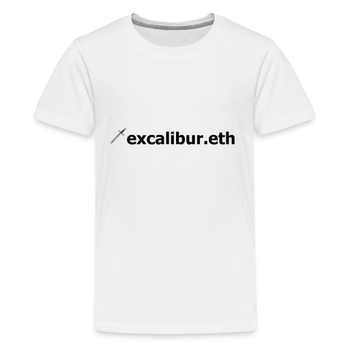 🗡️excalibur.eth - Teenager Premium T-Shirt