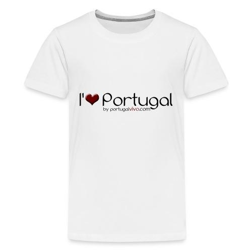 I Love Pt - T-shirt Premium Ado
