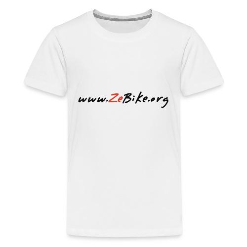wwwzebikeorg s - T-shirt Premium Ado