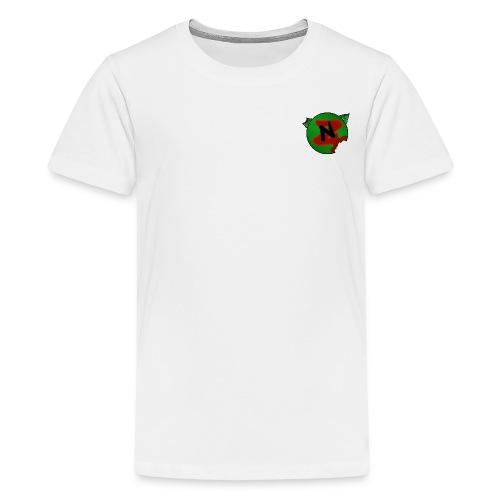 Neko Zombie__Logo Oficial - Camiseta premium adolescente