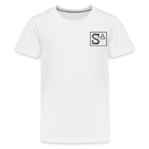 S a squaree apparel - Teenage Premium T-Shirt