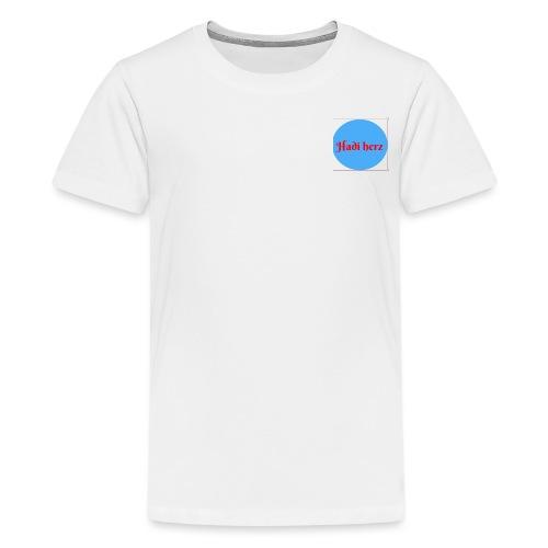 Hadi Herz - Premium T-skjorte for tenåringer