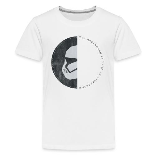 the beginning - T-shirt Premium Ado