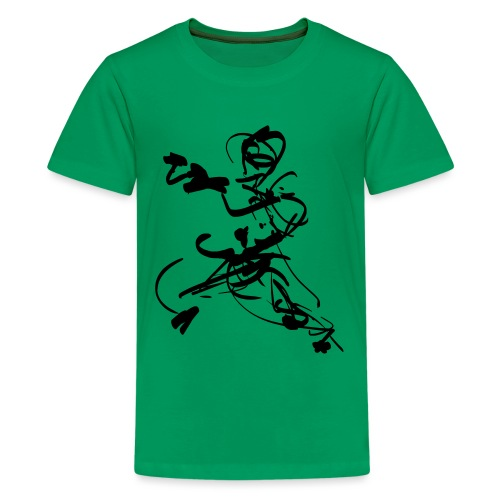 mantis style - Teenage Premium T-Shirt