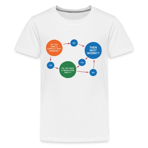 Conflict & Resolution - Teenager Premium T-Shirt
