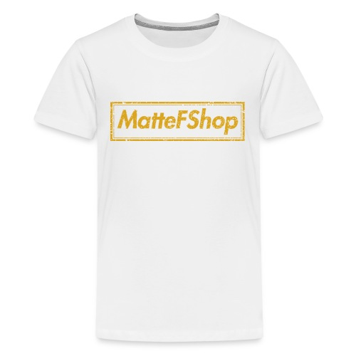 Gold Collection! (MatteFShop Original) - Maglietta Premium per ragazzi