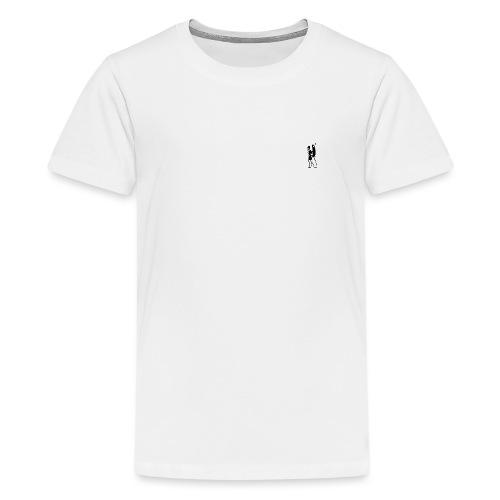 Two People Walking - Teenager premium T-shirt