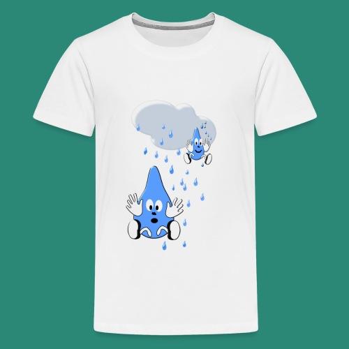 Regen,Regen - Teenager Premium T-Shirt