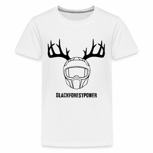 Blackforest Helm - schwarz - Teenager Premium T-Shirt