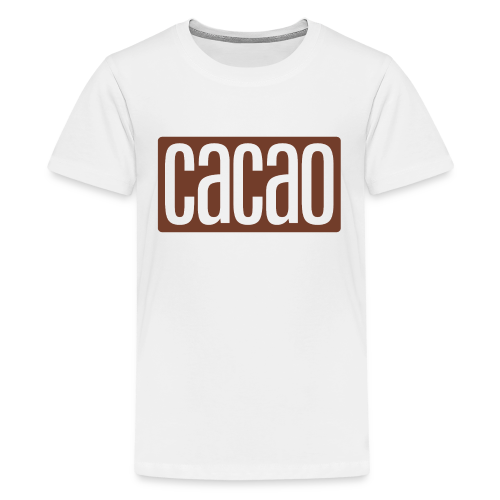 cacao - Teenager Premium T-Shirt