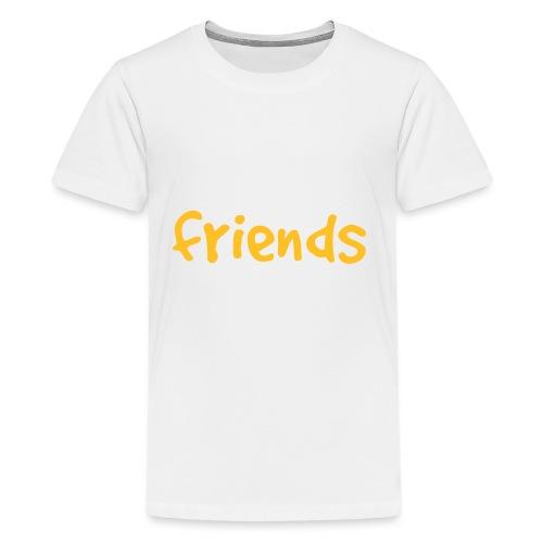 Fisk er venner - Premium T-skjorte for tenåringer