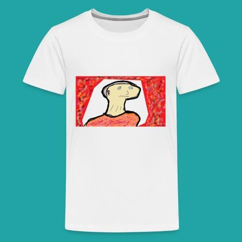 Old Grandpa - Teenager premium T-shirt