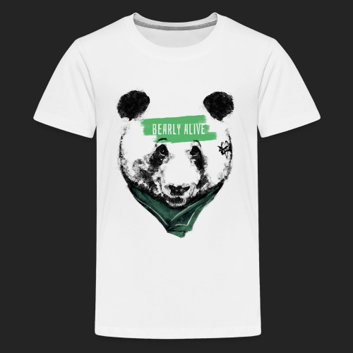 Panda bearly alive - T-shirt Premium Ado