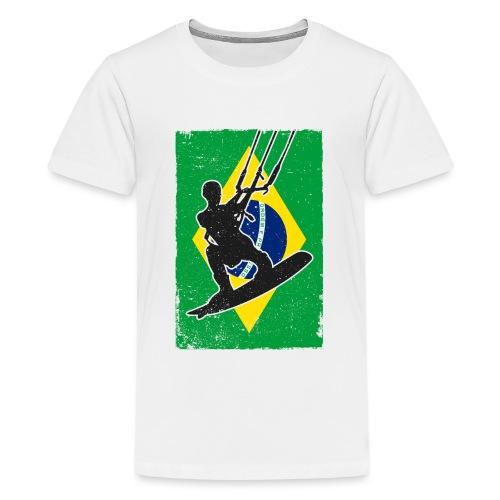 Kitesurfen - Brasilien - Teenager Premium T-Shirt