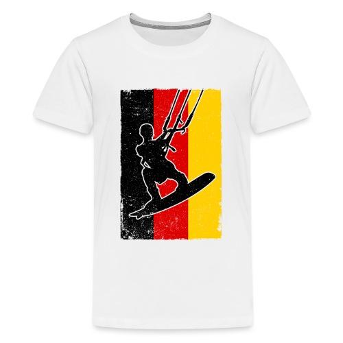 Kitesurfer Germany - Teenager Premium T-Shirt