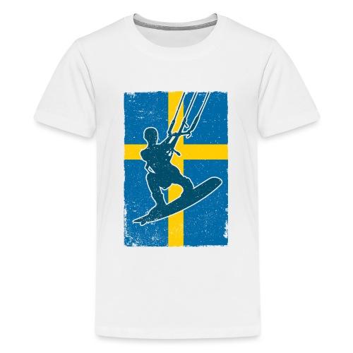 Kitesurfer Sweden - Teenager Premium T-Shirt
